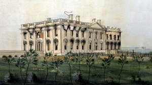 The President's House by George Munger, 1814-1815